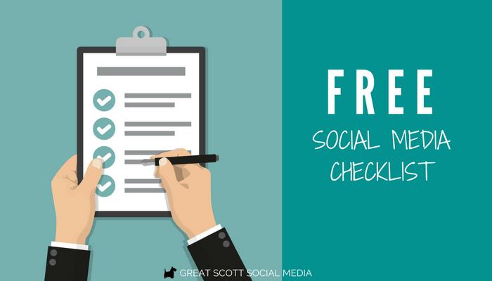 Free Social Media Checklist for Social Media Success